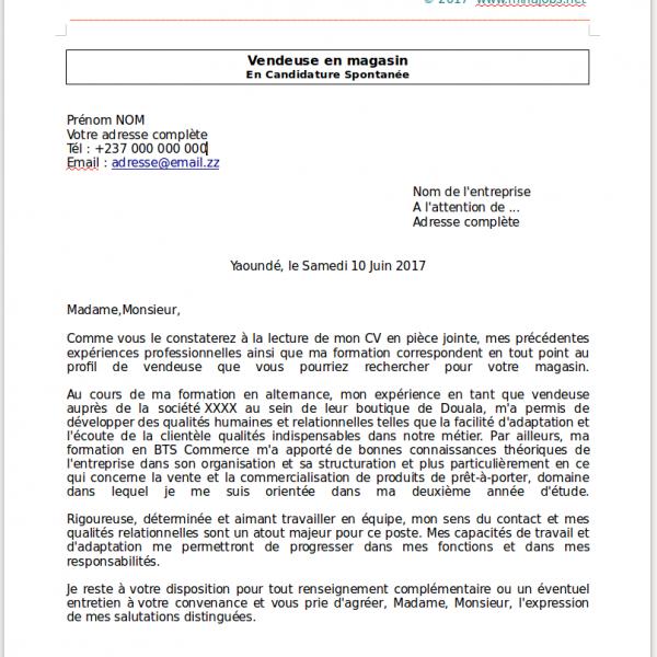 Modeles De Lettres De Motivation Lm Gratuits A Telecharger Domaine Commercial Vente Minajobs Net Emplois Stages Recrutements Services