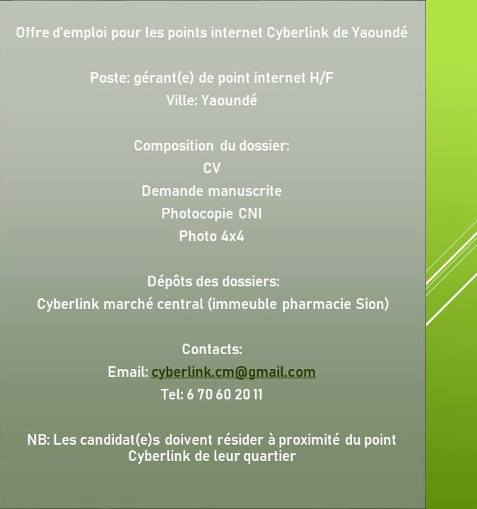 avis de recrutements massifs des g u00e9rants  stages et