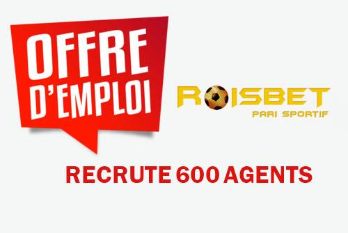 ROISBET RECRUTEMENTS