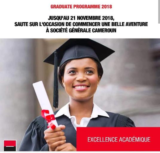 Avis de recrutement 2018 des Jeunes Diplômés - Programme Graduate